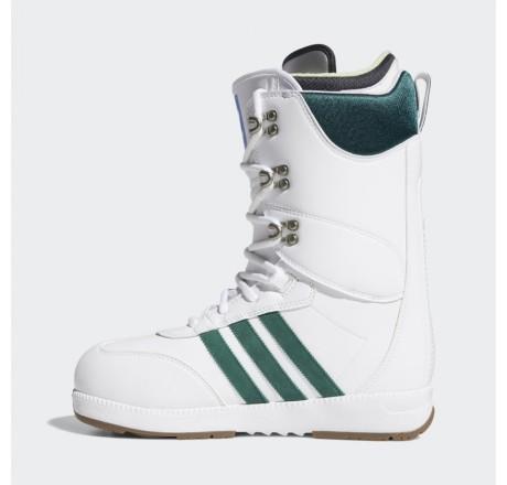 Adidas Samba ADV scarponi da snowboard da uomo bianchi