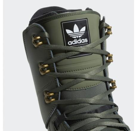 Adidas Samba ADV scarponi da snowboard dettaglio logo