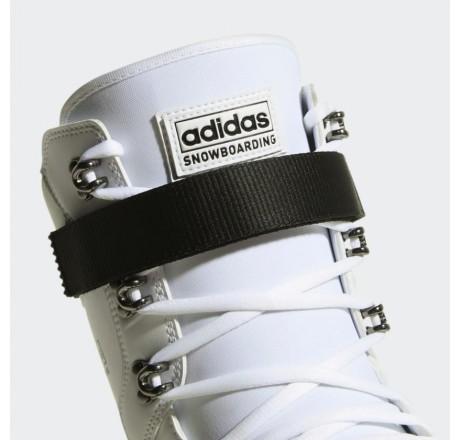 Adidas Superstar ADV scarponi da snowboard dettaglio chiusura