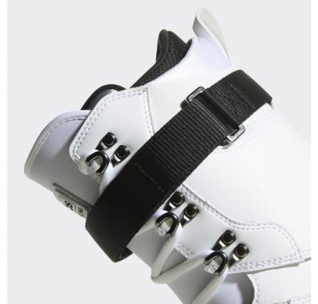 Adidas Superstar ADV scarponi da snowboard dettaglio laccio