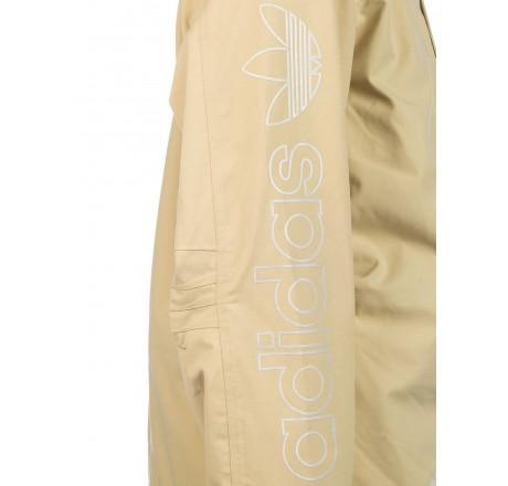 Adidas Utility Jacket giacca snowboard da uomo dettaglio logo