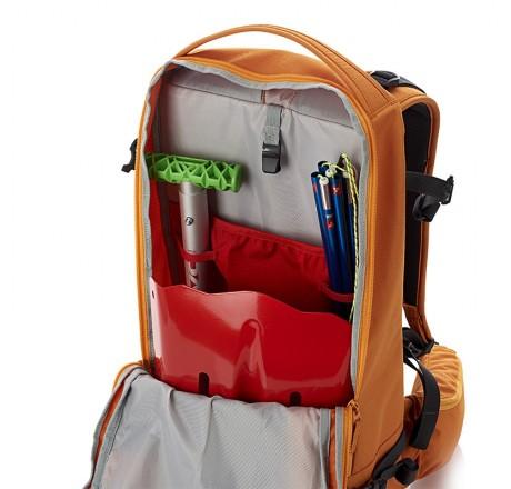 Arva Explorer zaino 26 litri con scomparti per dispositivi di sicurezza valanghe