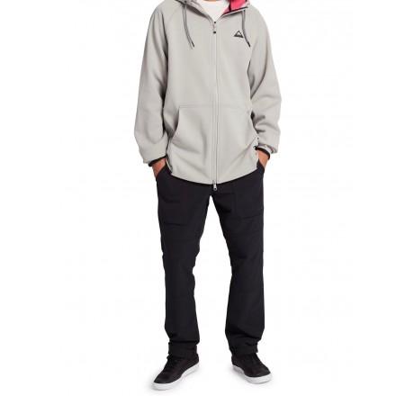 Burton Crown Weatherproof Full-Zip Fleece felpa tecnica da uomo