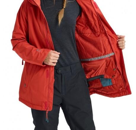 Burton GORE‑TEX Kaylo Shell Jacket giacca snowboard da donna in Gore-Tex dettaglio interno