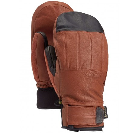 Burton Gore-tex Gondy Leather Mitten guanti snowboard in Gore-Tex e pelle da uomo