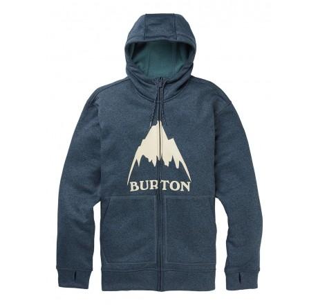 Burton Oak Full Zip Hoodie felpa tecnica con cappuccio e zip da uomo