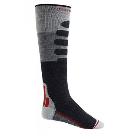 Burton Performance + Midweight Sock calze funzionali snowboard da uomo