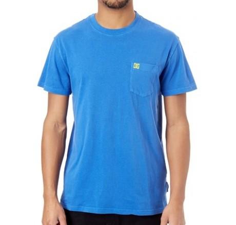 Dc Shoes Dyed t-shirt a manica corta da uomo con taschino