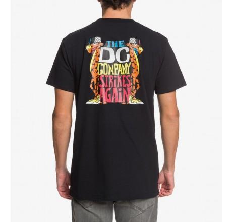 Dc Shoes Strikes Again t-shirt a manica corta da uomo