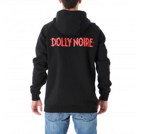 Dolly Noire Hexagon felpa da uomo con cappuccio e logo