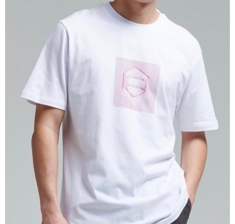 Dolly Noire Logo Process t-shirt a manica corta da uomo con stampa effetto 3d