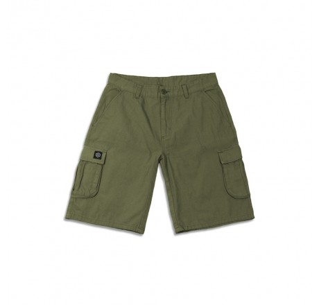 Dolly Noire Shorts Ripstop Green bermuda da uomo con tasconi laterali