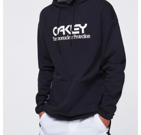 Oakley Dwr Fleece Hoody felpa tecnica con cappuccio da uomo