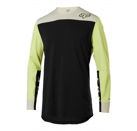 Fox Racing Defend Delta t-shirt a manica lunga da uomo in Polartec