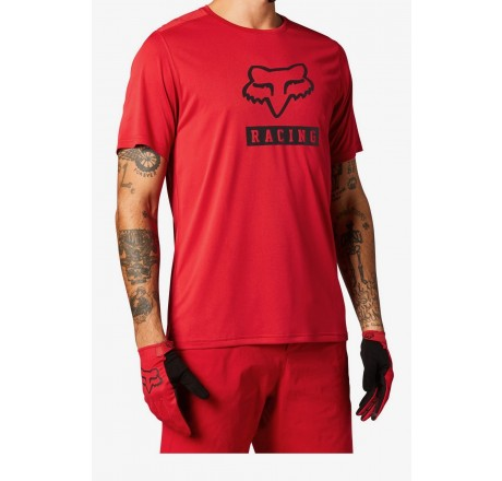 Fox Racing Ranger Block t-shirt da uomo a manica corta in tessuto tecnico da mountain bike