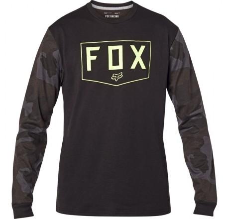 Fox Racing Shield Tech t-shirt a manica lunga da uomo in tessuto tecnico