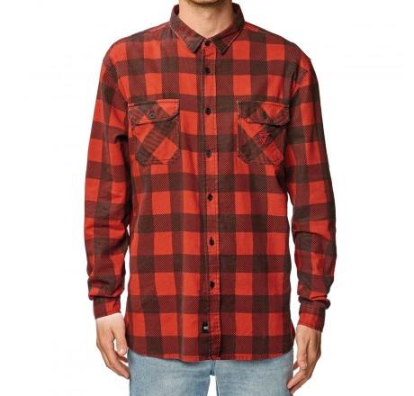 Globe Dion Agius Tempo Ls Shirt  Camicia a quadri da uomo
