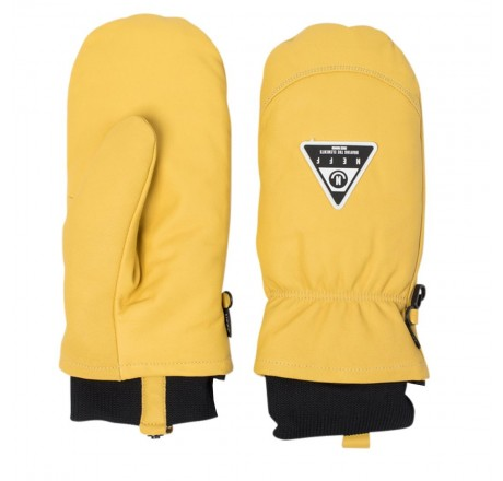 Neff Work Mitt guanti snowboard in pelle da uomo