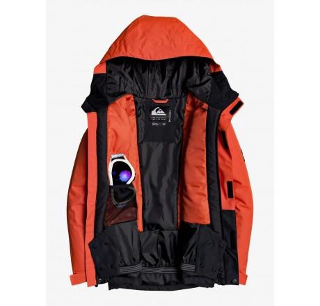 Quiksilver Mission giacca snowboard da ragazzo, dettaglio interno