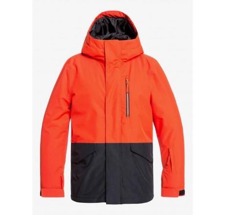 Quiksilver Mission giacca snowboard da ragazzo