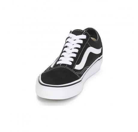 Vans Old Skool scarpe basse da skate nere e bianche