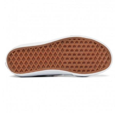 Vans Sk8-Hi scarpe alte in pelle scamosciata da uomo dettaglio suola waffle