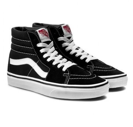 Vans Sk8-Hi scarpe alte da skate in pelle scamosciata e tela unisex