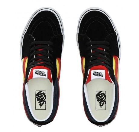 Vans Sk8-Mid scarpe mid-top stringate con collo imbottito da uomo