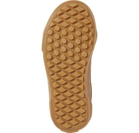 Vans Sk8-Mid Reissue V Sneakers da bambino con chiusura in velcro dettaglio suola