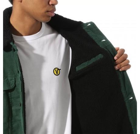 Vans Skylark giacca in velluto a coste da uomo con fodera sherpa
