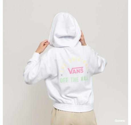 Vans Sponsorship felpa da donna corta con stampa sulla schiena