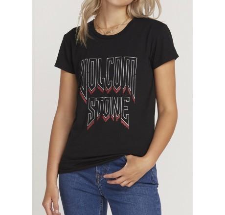 Volcom Easy Babe Rad t-shirt a manica corta da donna con scritta