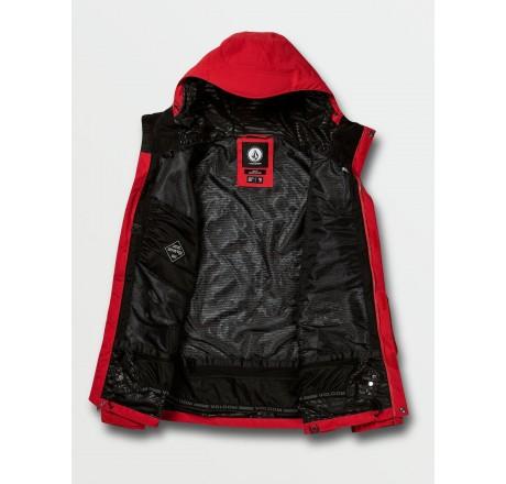 Volcom L GORE-TEX Jacket giacca snowboard da uomo rossa