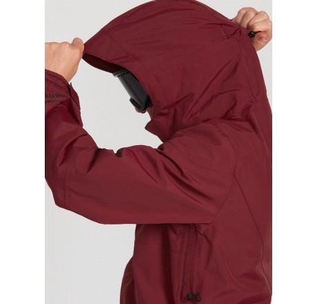 Volcom L Insulated GORE-TEX Jacket giacca snowboard da uomo dettaglio cappuccio