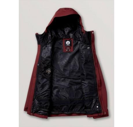 Volcom L Insulated GORE-TEX Jacket giacca snowboard da uomo dettaglio interno