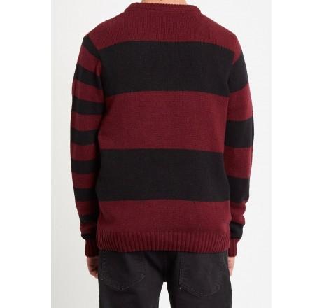 Volcom Striped Edmonder Sweater maglione da uomo a righe