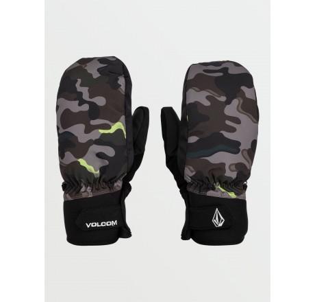 Volcom Nyle Mitt guanti snowboard a muffola da uomo camo