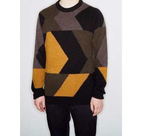 Volcom Williekearl Pullover maglione da uomo jacquard