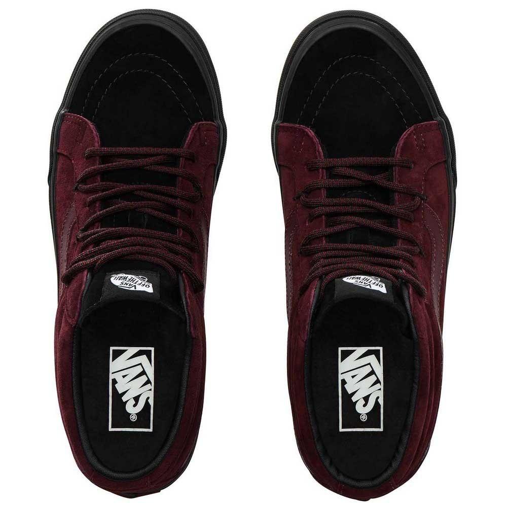 vans scarpe uomo bordeaux
