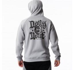 Dolly Noire Black Bear Zip Hoodie